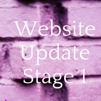 Website Update Stage 1