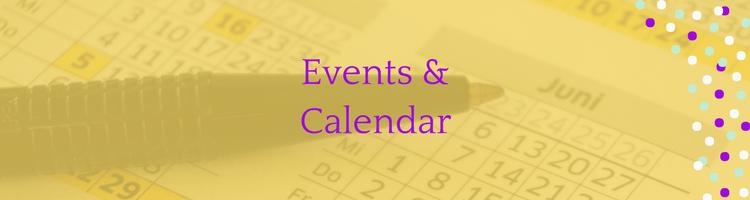Events & Calendar