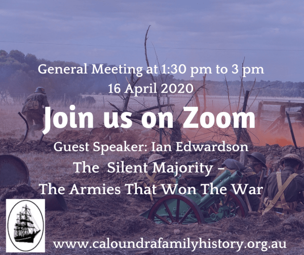 General Meeting April 2020