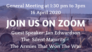 General Meeting - Join us on ZOOM