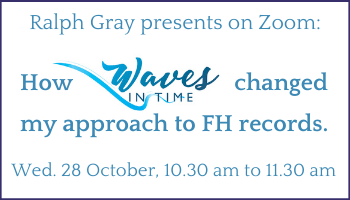 How Waves in Time changed my approach to Family History Records.