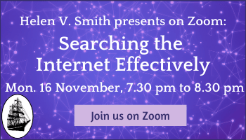 Searching the Internet Effectively with Helen V Smith