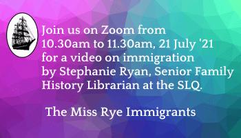 The Miss Rye Immigrants