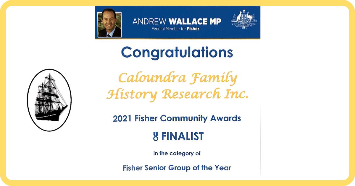 FIsher Community Award Blog Post