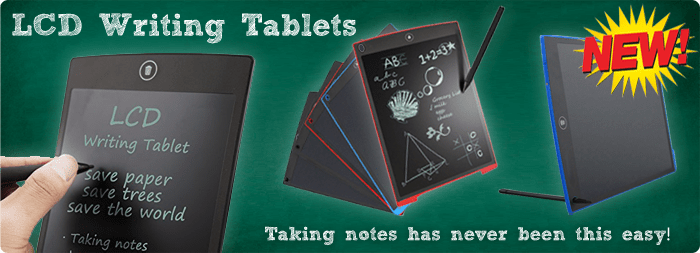 lcd writing tablets