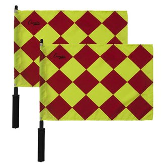 OFFICIAL'S DIAMOND PATTERNED LINESMAN'S FLAG LF3