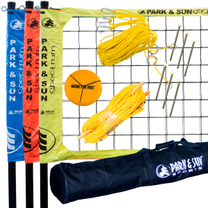 TRIBALL PRO 3-WAY VOLLEYBALL NET SYSTEM
