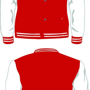 REDONDO LETTERMAN WHITE-RED