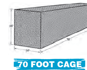 70 FOOT CAGE