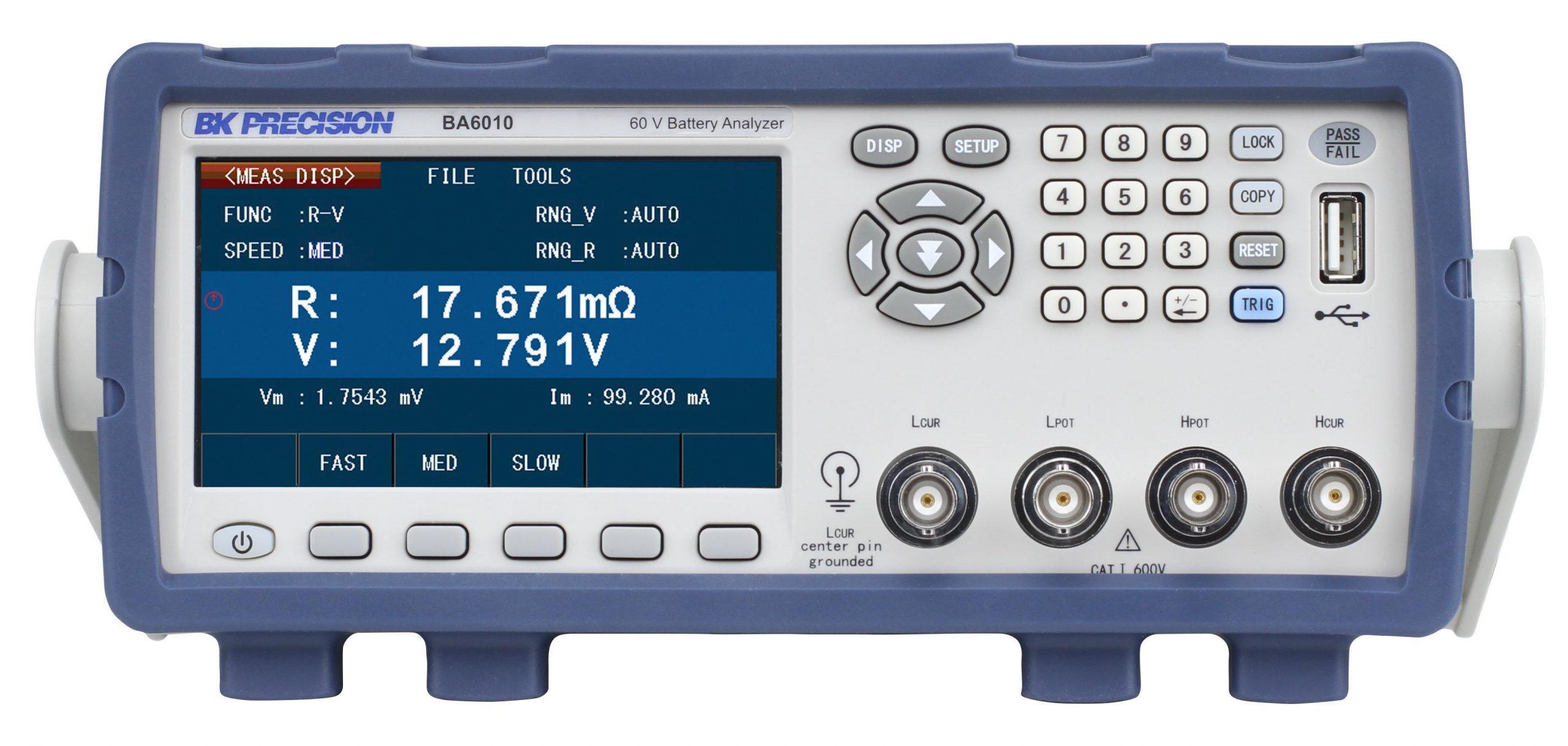 B&K Precision BA6010 Battery Analyzer