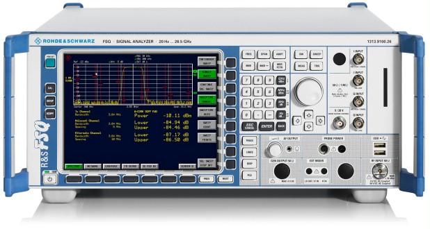 Rohde & Schwarz FSQ Series Signal Analyzer