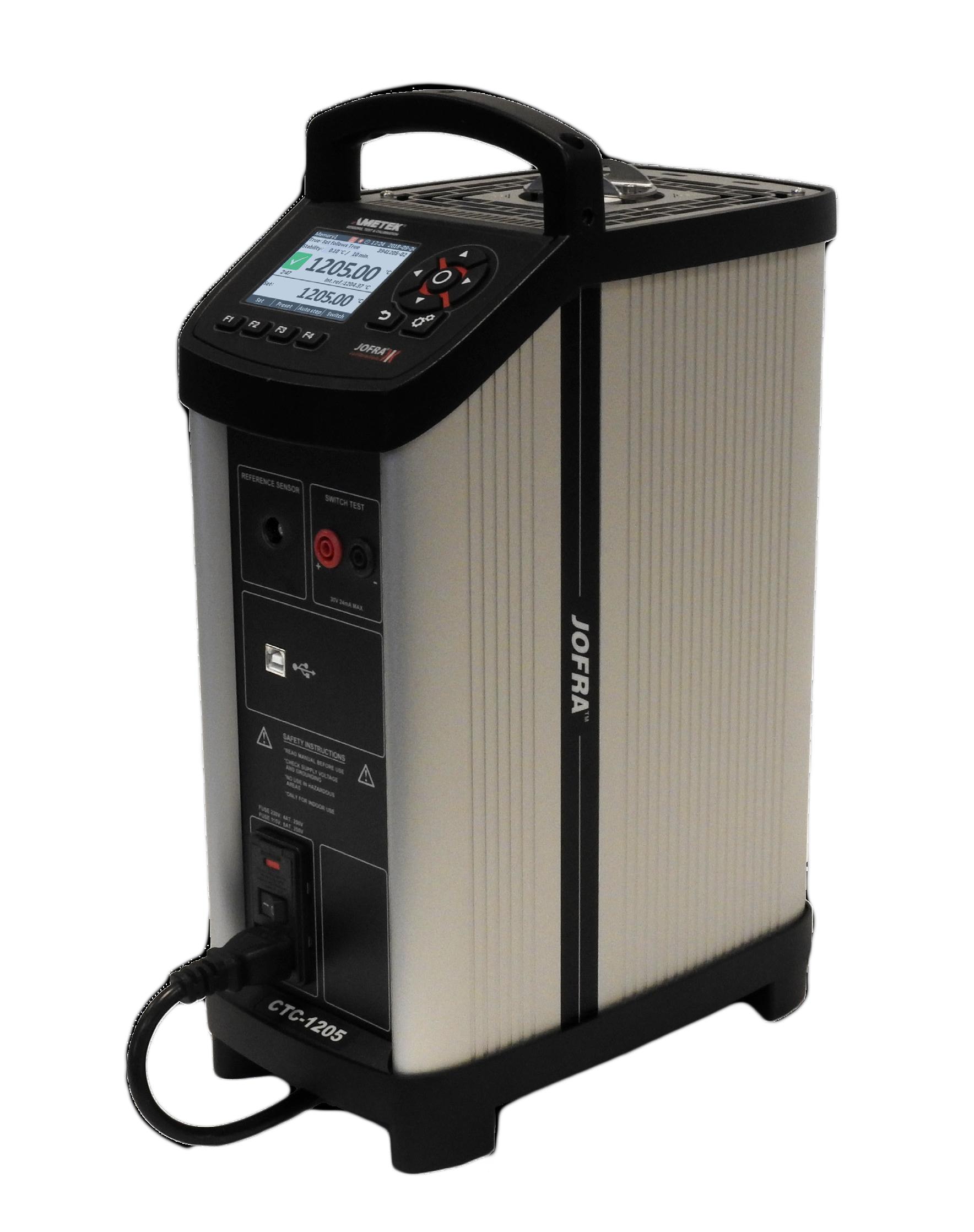 Ametek Jofra CTC1205 Dryblock Temperature Calibrator