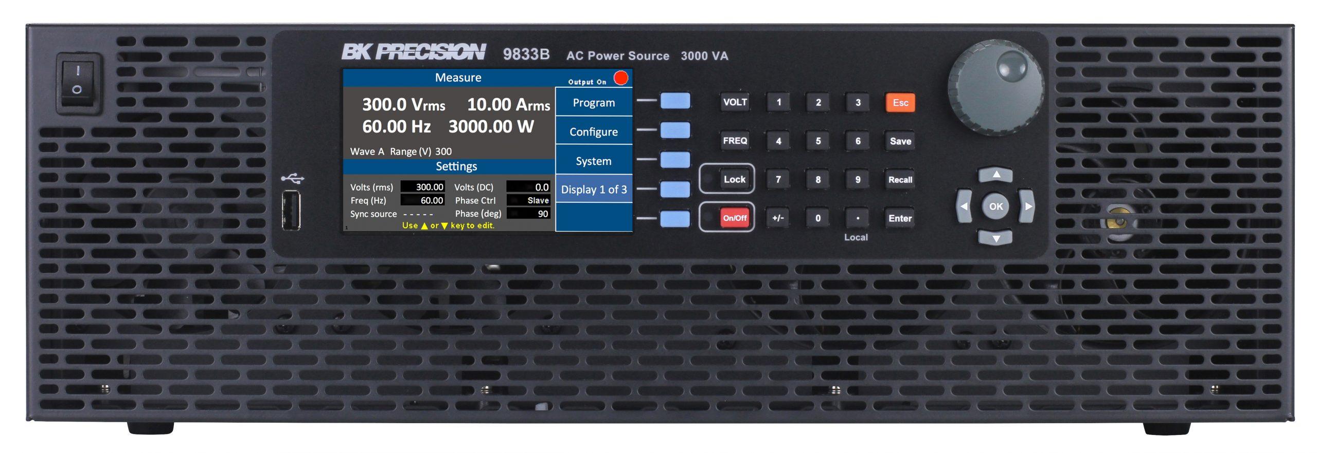 B&K Precision 9832B Programmable AC Power Source