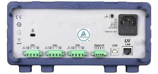 B&K Precision 9140 Triple-Output Multi-Range DC Power Supply back view