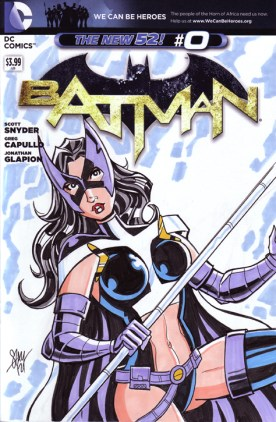 Huntress Sketch Cover