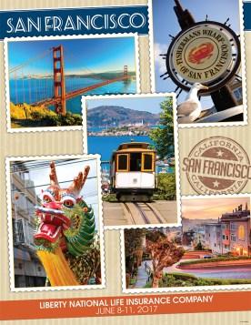 San Francisco Travel Poster