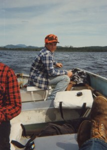 As his father looks on, young Al runs the tiller while trolling on an Upstate New York lake near where they lived before the author moved to Southern California. They made some great memories in the outdoor playground, and Al is passing along the love of all things outside to his daughter. (ALBERT QUACKENBUSH)