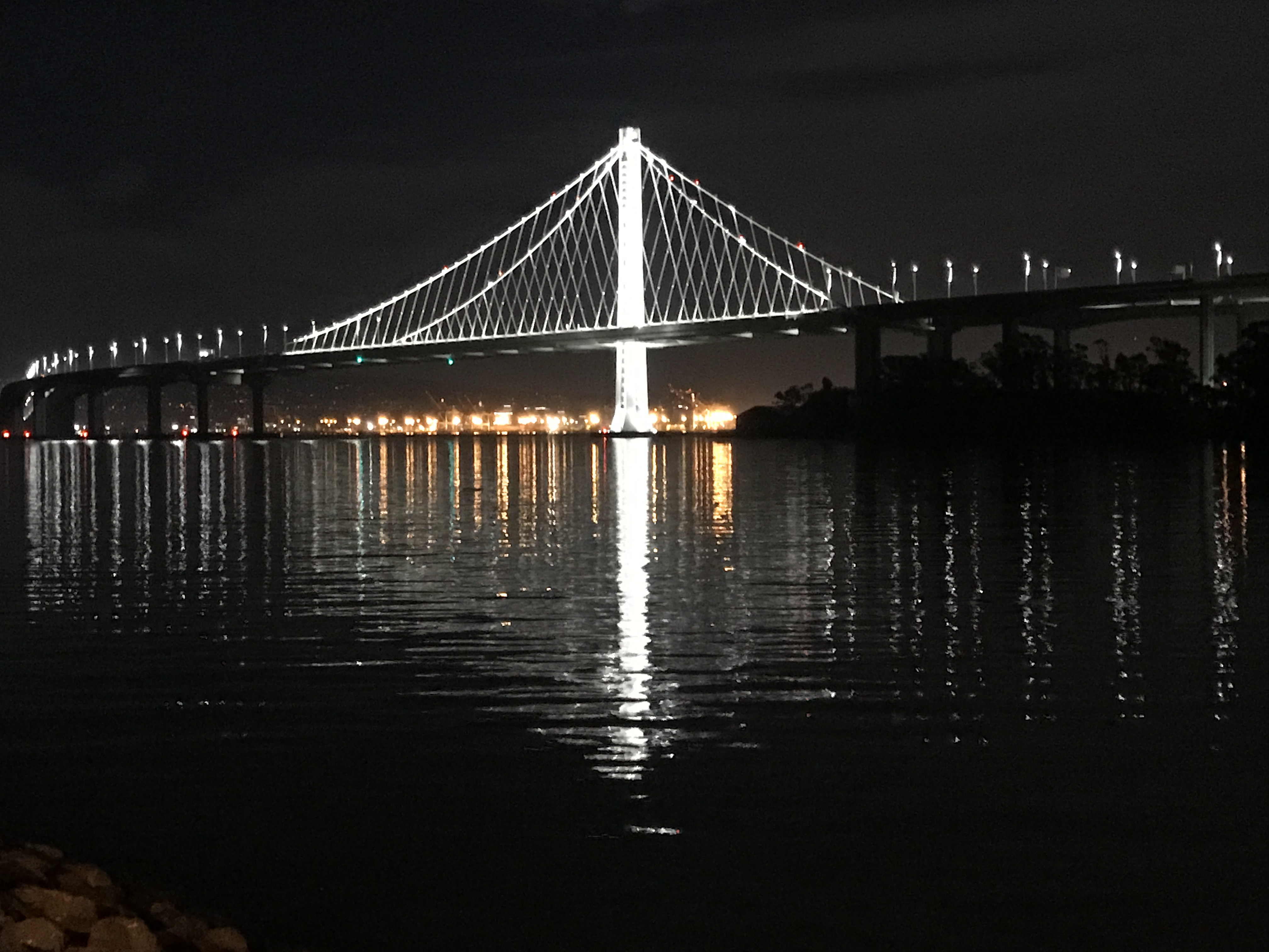 New fishing pier proposed for below sf bay bridge span for Sfbay fishing report
