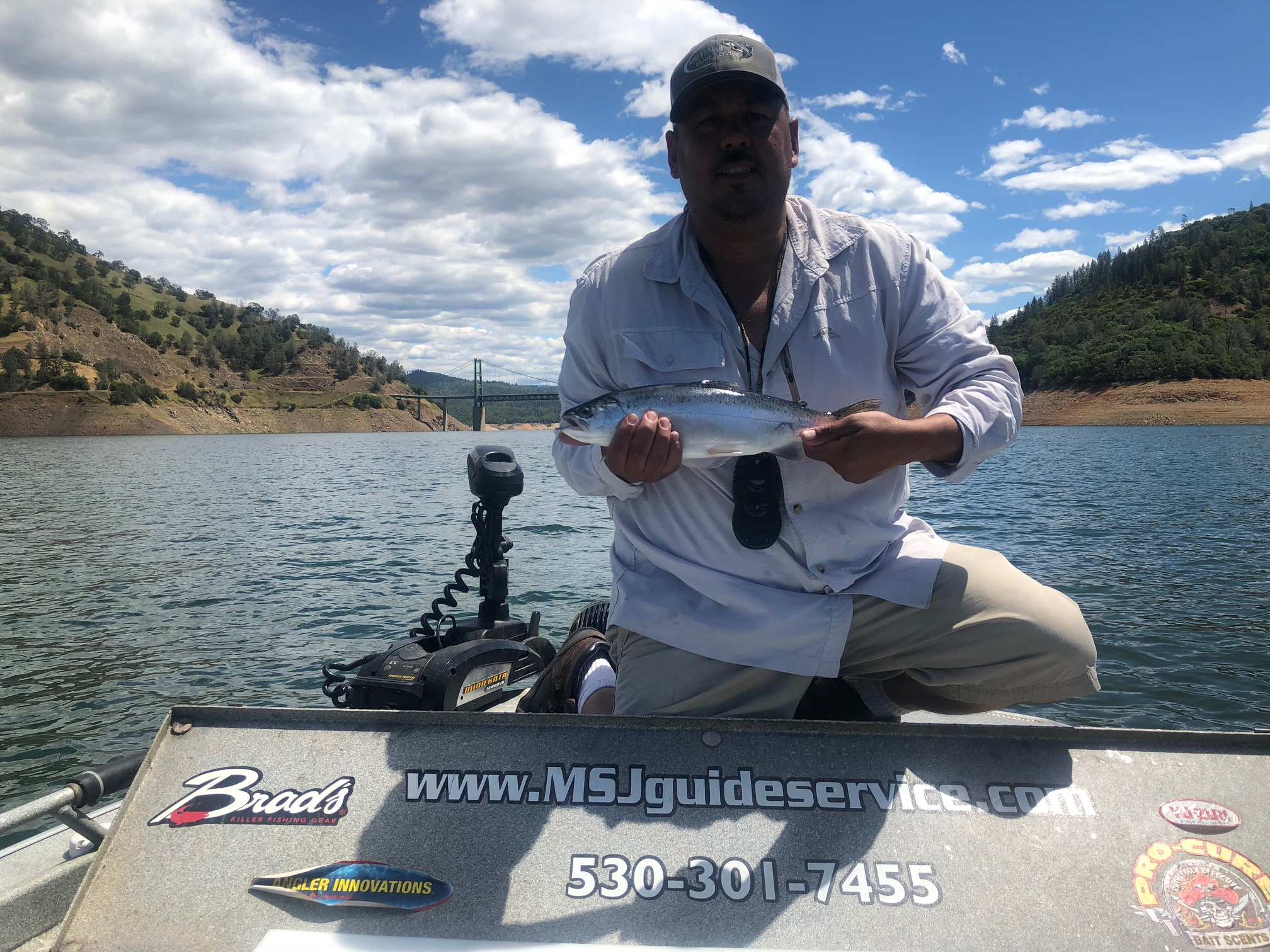 Oroville fishing is fit for a king for Sacramento bee fishing report