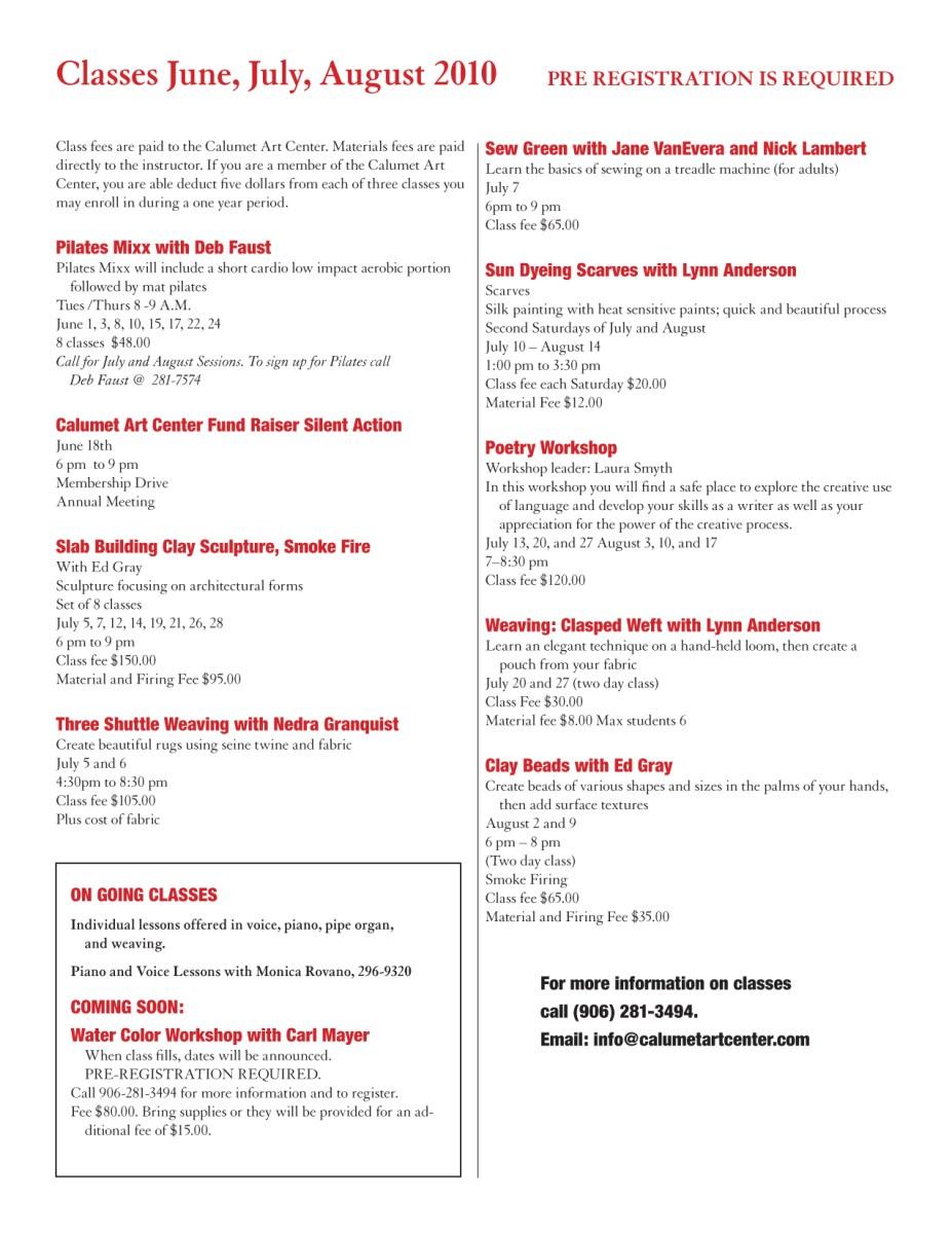 spring 2010 newsletter, pg 3