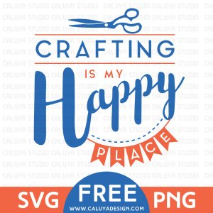Happy Crafting SVG