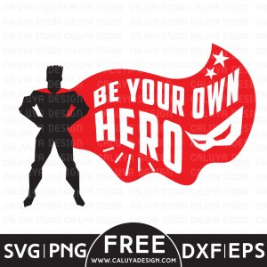Superhero Free SVG