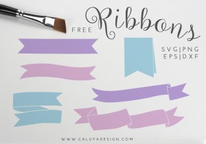 Ribbon Bundle Free SVG