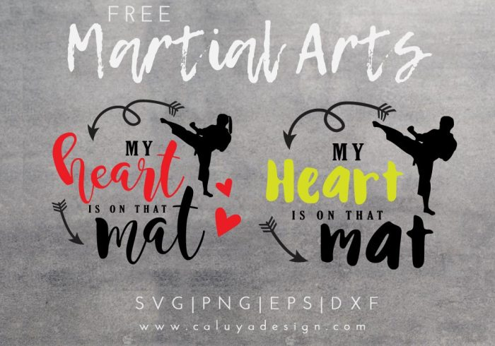 Martial Art free SVG