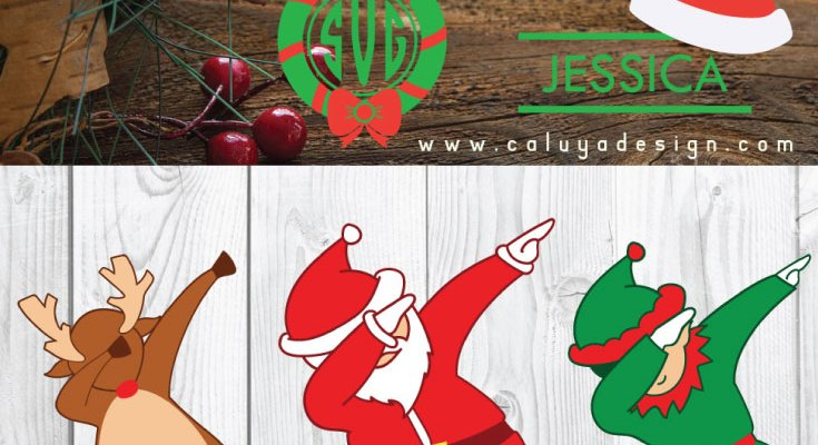 FREE 12 Christmas SVG, PNG, DXF & EPS Bundle