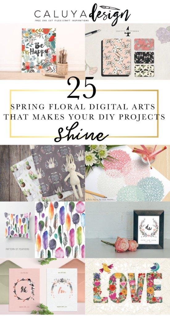 21 Spring Floral Digital Arts