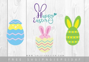 Free Happy Easter SVG Cut File