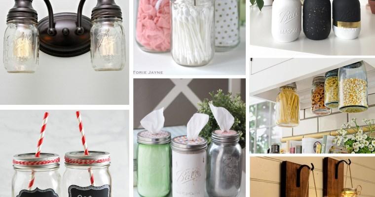 20 Must Try Mason Jar DIY Craft Ideas