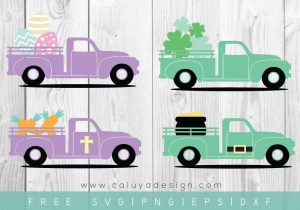 FREE Easter & St. Patrick's Day SVG