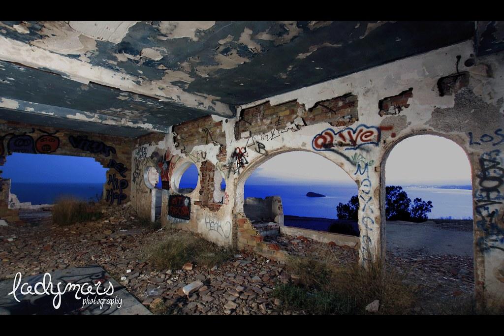 Casa Freddy en ruinas