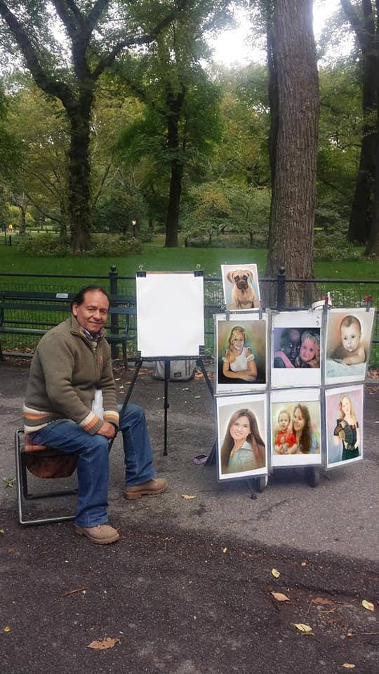 Edgar y sus retratos