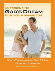 Experiencing God's Dream for your Marriage FB size pic