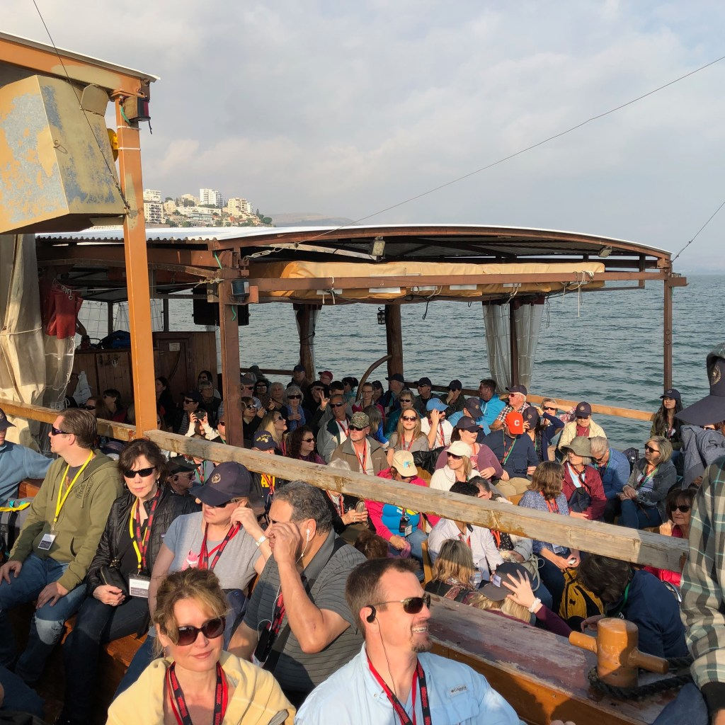 Day two Jesus boat ride Sea of Galilee -2