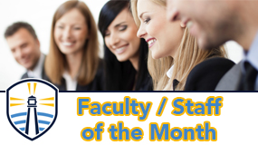 Faculty / Staff of the Month