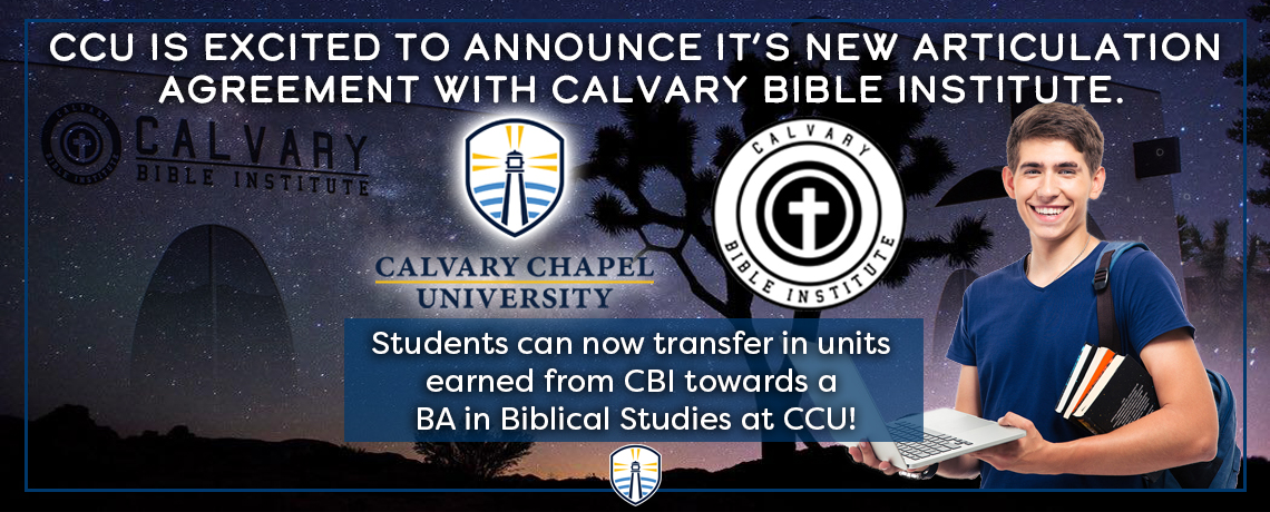 Calvary Bible Institute Articulation Agreement