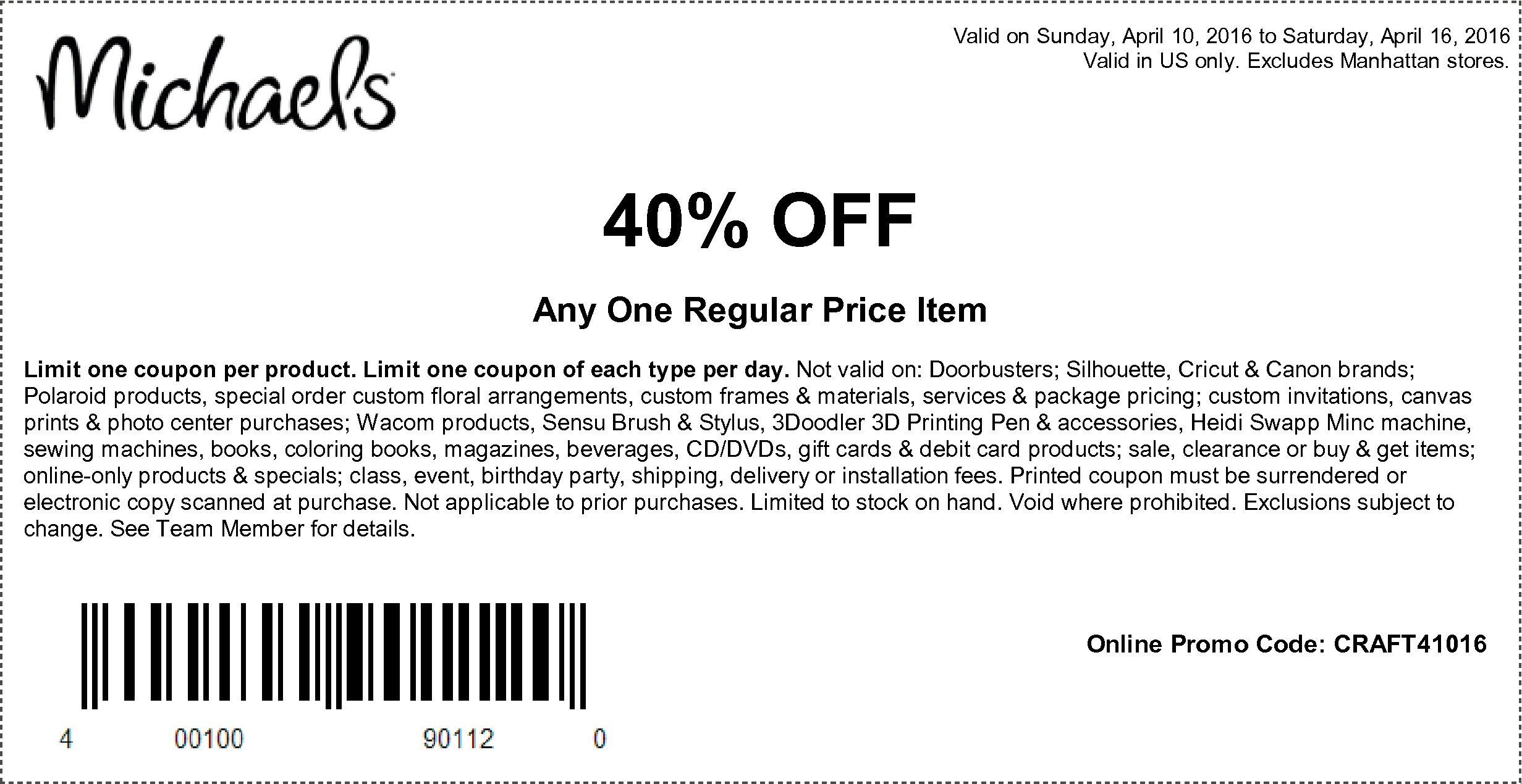 S 50 Printable Joann Coupon