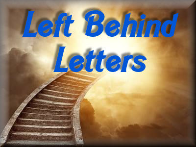 Left Behind Letters