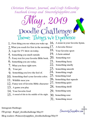 May 2019 Doodle Challenge Download
