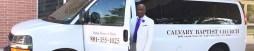 Church Van with driver