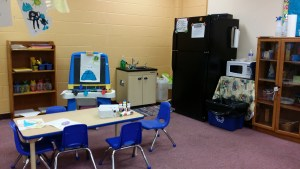 Preschool Classroom Art Area