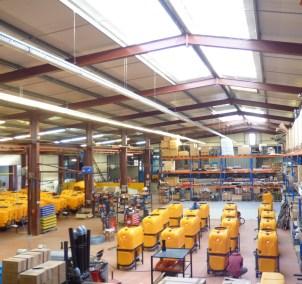 hangar de stockage CALVET