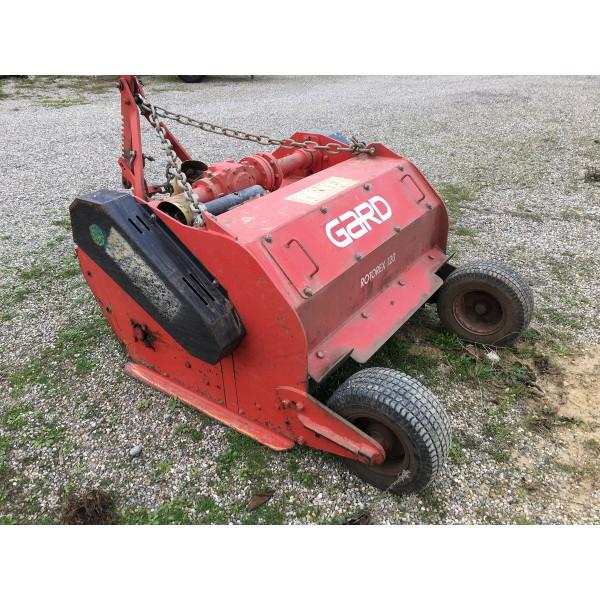 broyeur hors sol gard rotorex rouge