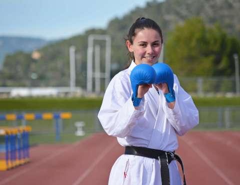 Noelia Grau – Karate-calvia