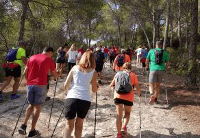 Nordic Walking en Calvià - Ruta de Portals Nous