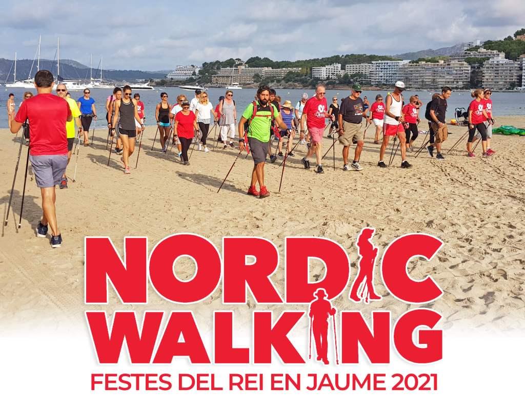 NORDIC WALKING FESTES DEL REI EN JAUME 2021