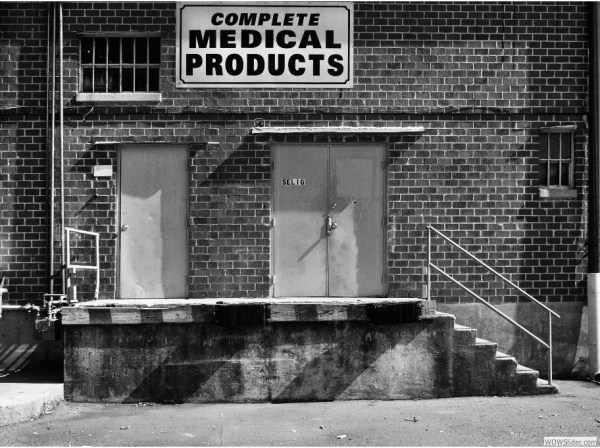 Complete Medical Products, Behind Suburban Plaza